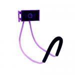 ที่จับมือถือแบบคล้องคอ สีม่วง