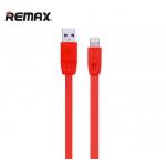 สายชาร์จ Remax iPhone 6, 6+, 5S รุ่น Full Speed Series สีแดง
