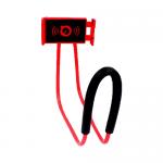 ที่จับมือถือแบบคล้องคอ สีแดง