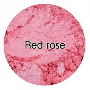 Red rose mica pearlescent pigment/ สีแดงกุหลาบประกายมุก / สีไมก้า