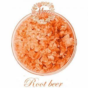 ชุด Aroma Bath Salt เกลือแช่ตัว สีส้ม กลิ่น Root beer 1000 กรัม