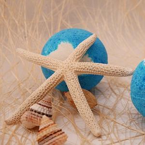 ชุดโมเสกบาธบอมบ์ปะการังสีฟ้า 350 - 1400 กรัม