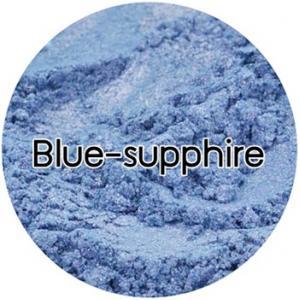 Blue supphire mica pearlescent pigment/ สีฟ้าประกายมุก