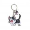 พวงกุญแจอะคริลิค แมว 12อัน