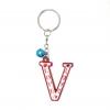 พวงกุญแจตัวอักษร V 12อัน
