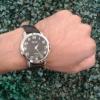 นาฬิกาข้อมือชาย สีดำเงา ยี่ห้อ NEAT