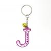 พวงกุญแจตัวอักษร J 12อัน