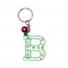 พวงกุญแจตัวอักษร B 12อัน