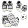 รองเท้าเด็กอ่อน รองเท้าเด็กหัดเดิน สีเทา - Grey skull 207