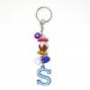 พวงกุญแจตัวอักษร Sสีฟ้า(แบบเล็ก) 12อัน