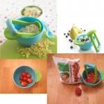 ถ้วยบดผลไม้และอาหาร NanaBaby Freshfoods Mash & Serve Bowl