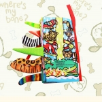 หนังสือผ้ามีหาง Rain Forest Tail by Jollybaby
