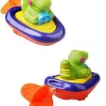 ของเล่นลอยน้ำ เรือน้อยแล่นชิว SASSY water toy baby swimming