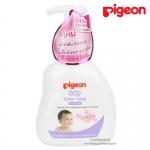 สบู่โฟมสำหรับทารกผสมซากุระสกัด 350ml. Pigeon Baby Foam Soap (Head to Toe)