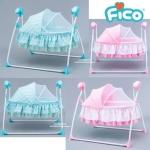 เปลไกวไฟฟ้า Fico รุ่น Cute Baby (SG237) ส่งฟรี