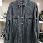 #207 เสื้อเชิ้ตยีนส์และผ้ากำมะยี่ เสื้อลายสก๊อตแบบบางรวม 400-450 ตัว