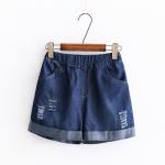Pre-order กางเกง เสื้อแฟชั่นนำเข้า กางเกงขาสั้น 16374