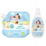 ละมุน ผลิตภัณฑ์น้ำยาซักผ้าเด็ก ออร์แกนิค Lamoon Organic Laundry Liquid