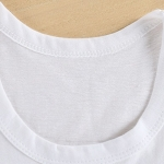 เสื้อกล้ามเด็กเล็กสีขาว ลายหมีทหารเรือ วัย 6-18 เดือน