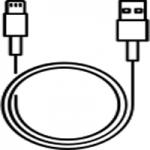 สายชาร์จ ( USB DATA CABLE )