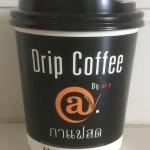 กาแฟดริป คั่วกลาง แก้ว พร้อมน้ำตาล ครีม @y Drip Coffee Medium Roast Cup