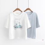 Pre-order เสื้อยืด เสื้อแฟชั่นนำเข้า เสื้อยืดแขนสั้น