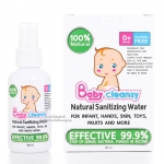 สเปรย์ทำความสะอาดจากธรรมชาติ(ฆ่าเชื้อ99.9%) Baby cleansy 100ml.(ใช้ได้ตั้งแต่ 0 เดือนขึ้นไป)