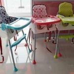 เก้าอี้ทานข้าวเด็ก 3 in 1 Booster ปรับระดับได้ (ส่งฟรี)