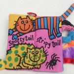 หนังสือผ้ามีหาง Kitty Tail by Jollybaby