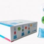 เครื่องวัดอุณหภูมิ วัดไข้เด็กดิจิตอล จอเปลี่ยนสีตามอุณหภูมิไข้