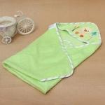 ผ้าห่อตัวเด็ก 100%Cotton Hooded Towel เนื้อผ้าขนหนู