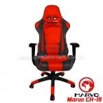 MARVO GAMING CHAIR รุ่น CH-111 เก้าอี้นั่งเล่นเกมส์ สีแดงดำ