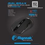 RAZEAK MOUSE WRILESS RWM-06 2.4GZ