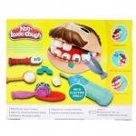 ชุดแป้งโดว์หมอฟัน-non-toxic-dough-แป้งโดว์-5-กระปุกพร้อมอุปกรณ์ครบชุด
