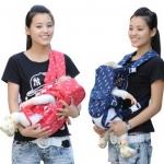 เป้อุ้มเด็ก 6 ท่า Multi-Function Baby Carrier สำหรับเด็กวัย 0-30 เดือน