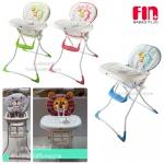 Fin babiesplus เก้าอี้ทานข้าวเด็ก baby high chair 2in1