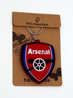 พวงกุญแจยางหยอด ทีมฟุตบอลอาร์เซนอล (พร้อมซอง) 12อัน