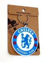 พวงกุญแจยางหยอด ทีมฟุตบอลเชลซี (พร้อมซอง) 12อัน