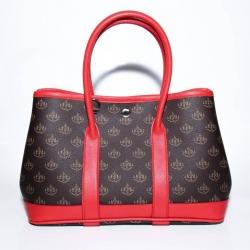 """กระเป๋าถือเก็บเงิน """"พูล เพิ่ม ทรัพย์"""" แบบคอนเซ็ป 7 วัน 7 สี (วันอาทิตย์ สีแดง)"""