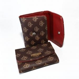 กระเป๋าใส่เงิน ( ญ ) สามพับสั้น ถือง่าย กะทัดรัด คล่องแคล่ว