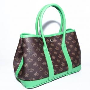 """กระเป๋าถือเก็บเงิน """"พูล เพิ่ม ทรัพย์"""" แบบคอนเซ็ป 7 วัน 7 สี (วันพุธ สีเขียว)"""