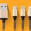สายชาร์จ Earldom 3 in 1 iPhone+Micro USB+TYPE-C thumbnail 3