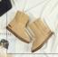 Pre-order รองเท้าแฟชั่น รองเท้านำเข้า รองเท้าบู้ท thumbnail 4