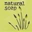 NATURAL TULIP SOAP STAMP 4.2 x 4.2 CM.