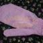 ถุงมือขัดตัวอาบน้ำแบบ Baby Gloves 1 ข้าง สีชมพู