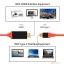 สาย HDTV Type C to HDMI 4K ต่อ Macbook Pro และ Samsung Galaxy S8 ออกทีวี thumbnail 4