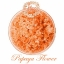 ชุด Aroma Bath Salt เกลือแช่ตัว สีส้ม กลิ่น Papaya flower 1000 กรัม