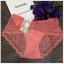 กางเกงในเซ็กซี่ ซีทรูเต็มตัว สีชมพูโอรส