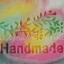 HANDMADE LAVENDER SOAP STAMP 3.5 X 4.5 CM.