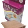Anniegrip สำหรับสวมข้อมือ WRIST size S - ผ้าซัพพอร์ทรูปแบบใหม่ เนื้อผ้ายืดได้ 4 ทิศทาง ชุบซิงค์ออกไซร์นาโน ป้องกันแสงยูวี และกลิ่นอับชื้น เสริมสร้างสัดส่วน บรรเทาอาการปวด